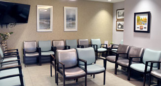 Samy Metyas MD, Inc Our Office Waiting Room